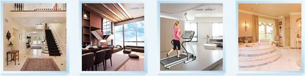 HZfs系列户式地暖热水空调机组应用