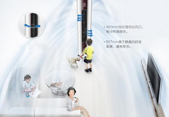 海尔UCP系列3匹无氟变频柜式空调