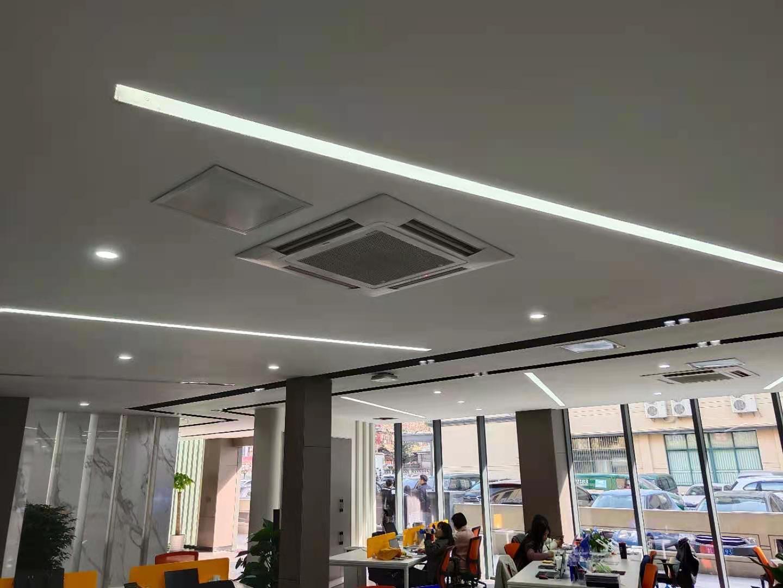 祝贺!上海绿适荣大集团上海分公司海尔中央空调项目顺利竣工移交