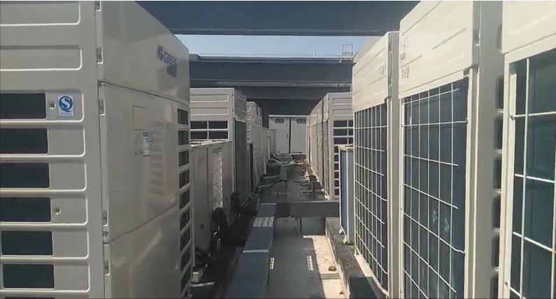 上海绿适携格力中央空调入驻翼捷股份办公楼